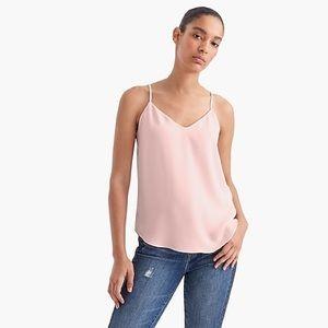 J Crew V-neck Camisole in Blush Pink